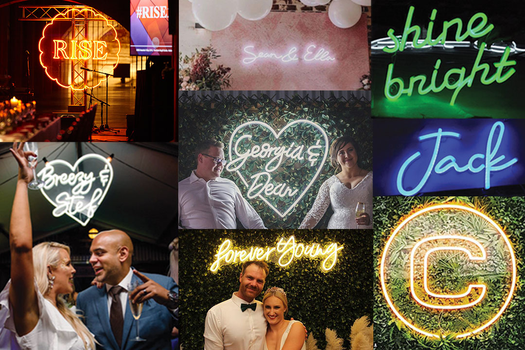 Melbourne Wedding & Bride - Wedding-Services - Lauren Kristy Neon Signage