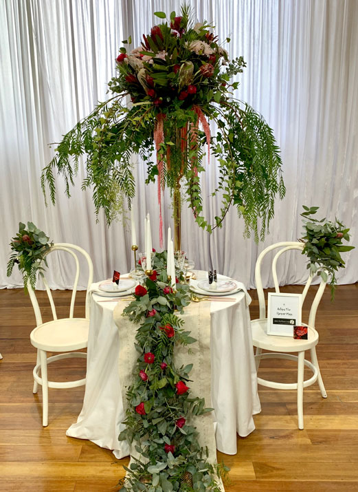 Flowers Victoria's 2019 Wedding Table Competition - Adam The Flower Man