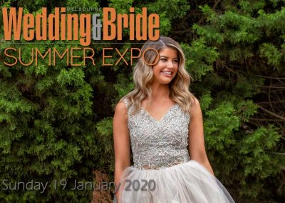 January Melbourne Wedding & Bride Summer Bridal Expo – 2020