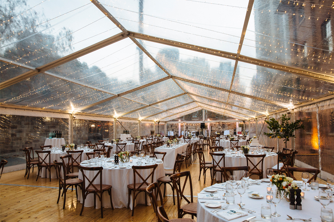 Event Marquees Melbourne Wedding Reception Styling